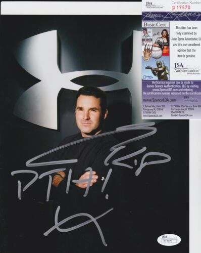 Kevin Plank Signed 8x10 Photo w/ JSA COA #P17670 Under Armour CEO & Founder