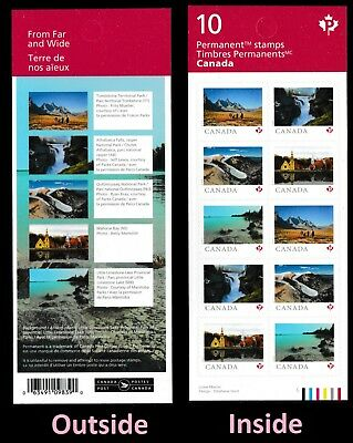 Canada 3157a Far Wide P Booklet 10 MNH 2019 - $16.96