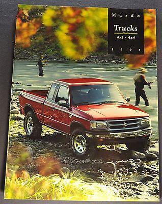 1995 Mazda Pickup Truck Brochure B2300 B3000 B4000 4x4 Excellent Original 95