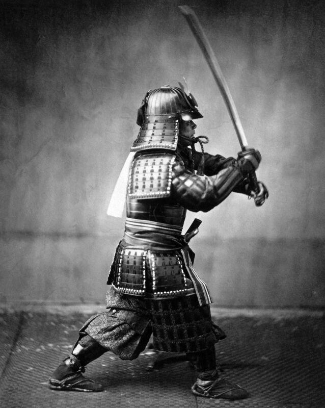 Japanese Armored Samurai With Snord 8x10 Photo Print