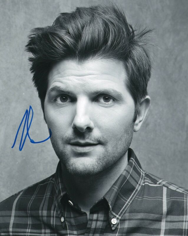 Adam Scott Parks and Recreation Step Brothers Signed 8x10 Photo w/COA #3