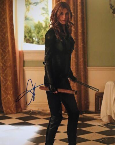 Adrianne Palicki signed 10x8 Image B photo UACC AFTAL Registered dealer COA
