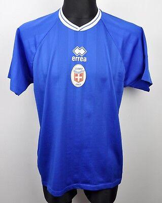COMO CALCIO 1907 Home Shirt Men's Large 2000s Errea Jersey VTG  Maglia Trikot FC image