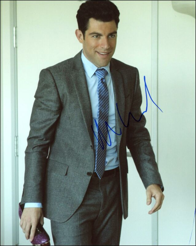 """Max Greenfield """"New Girl"""" AUTOGRAPH Signed 'Schmidt' 8x10 Photo B"""