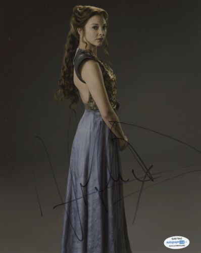 Natalie Dormer Game of Thrones Autographed Signed 8x10 Photo COA