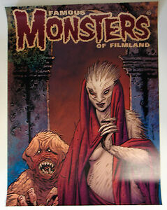 Famous-Monsters-of-Filmland-POSTER-NIGHTBREED-Guy-Davis-Cover-art