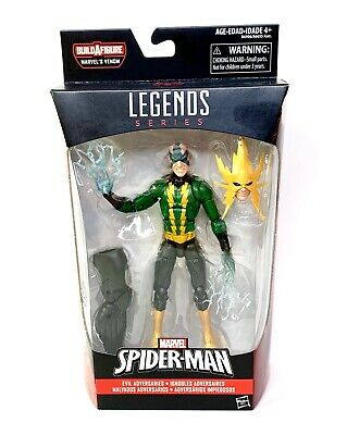 Marvel Legends Electro SHELF WEAR Space Venom BAF Brand New Spiderman Villain