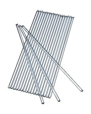 Glass Stirring Rod 250 mm (9.8 inch) Glass Stir Sticks Pack of 20 Stirrers