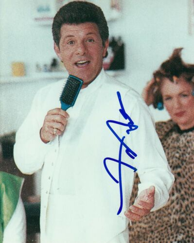FRANKIE AVALON signed (GREASE) Movie 8X10 photo *Beauty School Dropout* W/COA #6