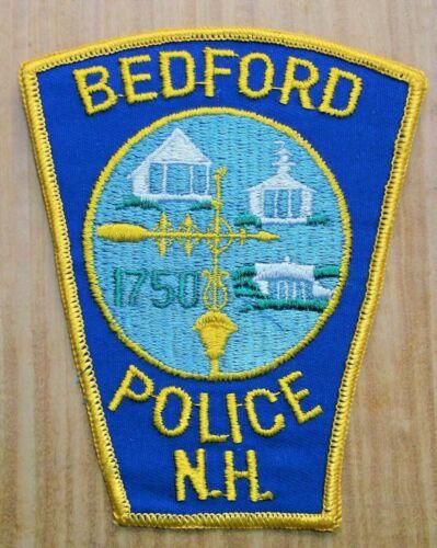GEMSCO NOS Vintage Collectible Patch POLICE BEDFORD NH - Original 45+