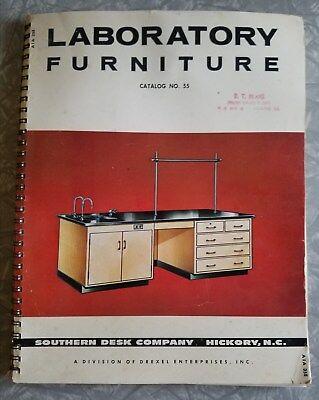 Used, Vintage 1964 Drexel Southern Desk Laboratory Furniture Catalog Schools ASBESTOS for sale  Atlanta