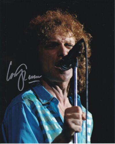 Foreigner Lou Gramm autographed 8x10 photograph RP