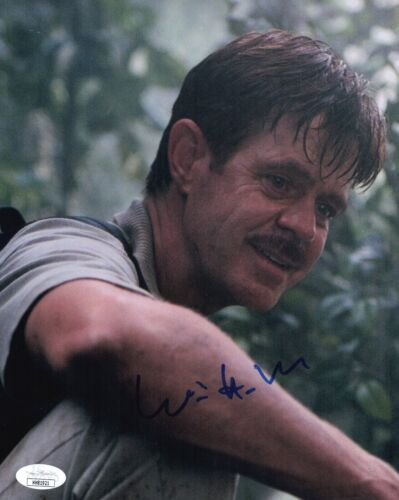 WILLIAM H. MACY Signed JURASSIC PARK III 8x10 Photo In Person Autograph JSA COA