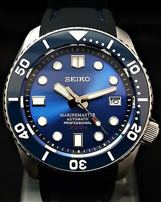 SKX007 Divers Watch - Seiko SII NH36 Auto Movement EXHIBITION BACK *MM300 MOD