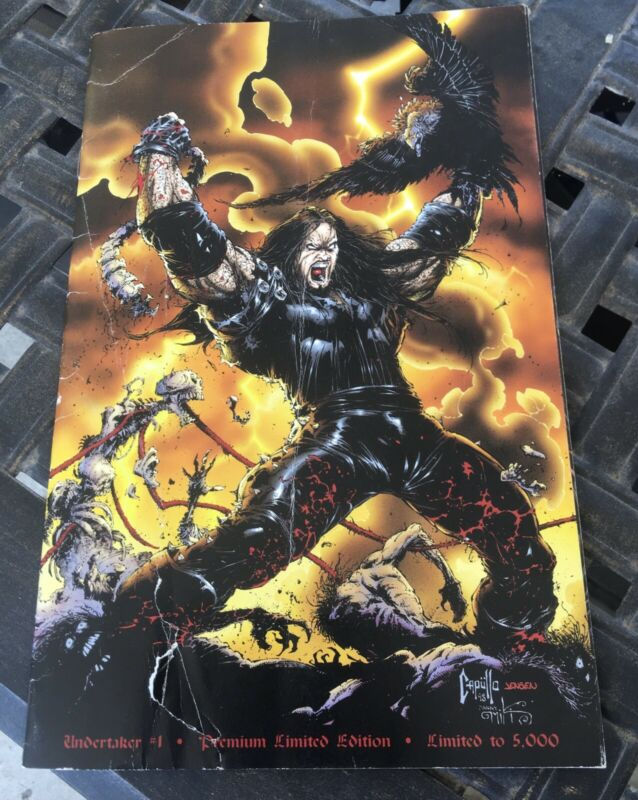 WWF Undertaker Comic Book