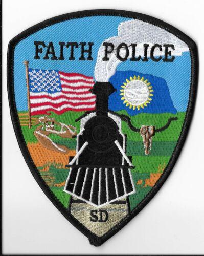 Faith Police Department, South Dakota Shoulder Patch