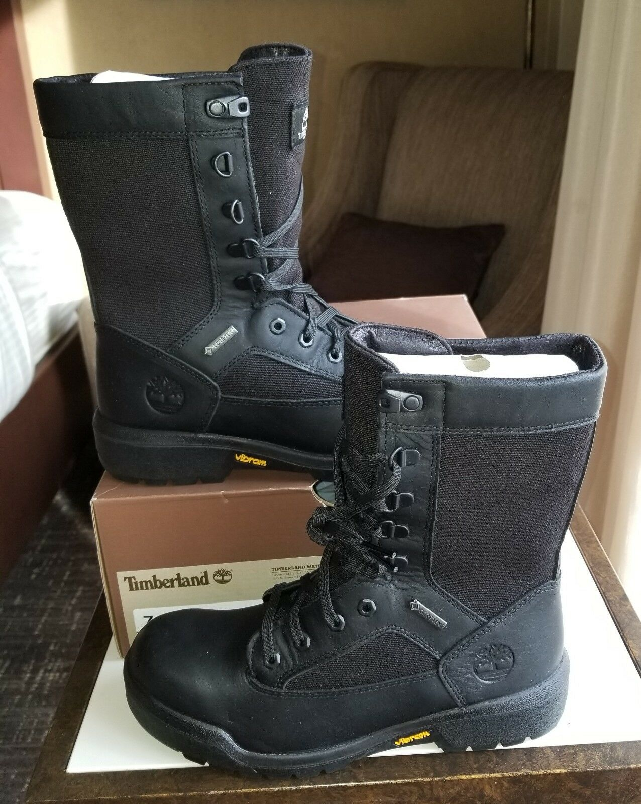 NEW TIMBERLAND® LIMITED RELEASE WATERPROOF TALL GORE TEX® FIELD BOOTS US 7 8