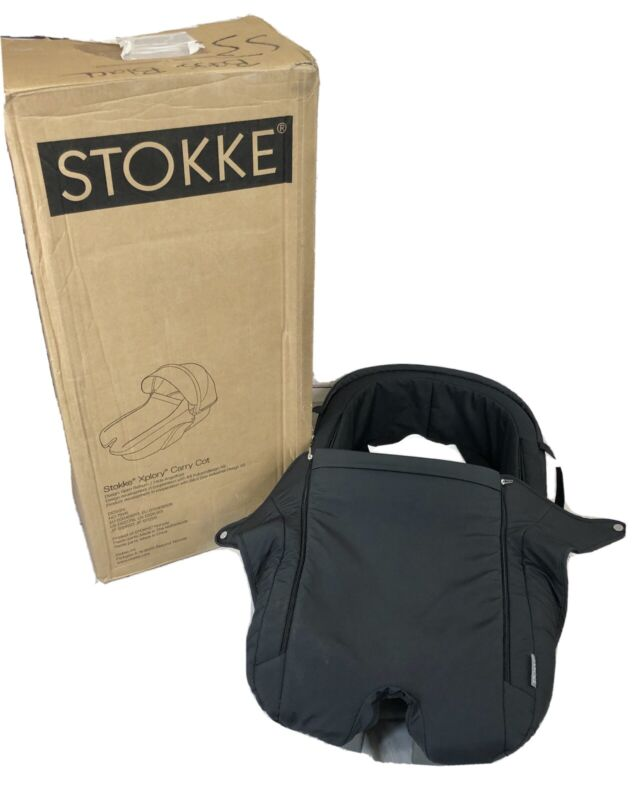 Stokke Xplory Carry Cot In Black