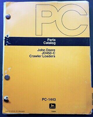 John Deere Jd450c Crawler Loaders Parts Catalog Manual - Pc-1443