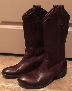 Brown Frye Leather Boots