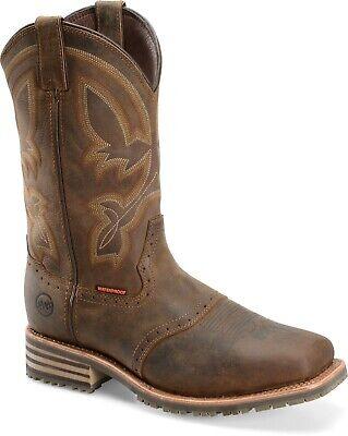 "Double H DH5124 - Men's 11"" Wide Square Composite Work Boot - Men's Size 10 2E"