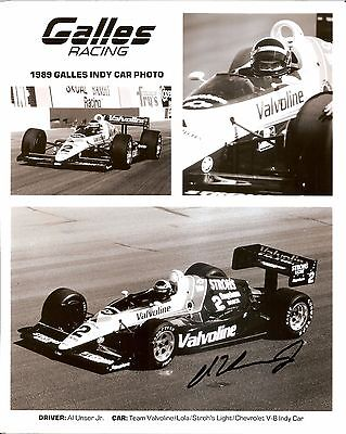 RICK MEARS  AUTOGRAPHED 1993 HI-TECH INDY 500 RACING CARD