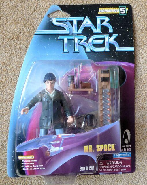 STAR TREK WARP FACTOR SERIES 5  MR SPOCK ACTION FIGURE UNOPENED 1998 MINT 65129