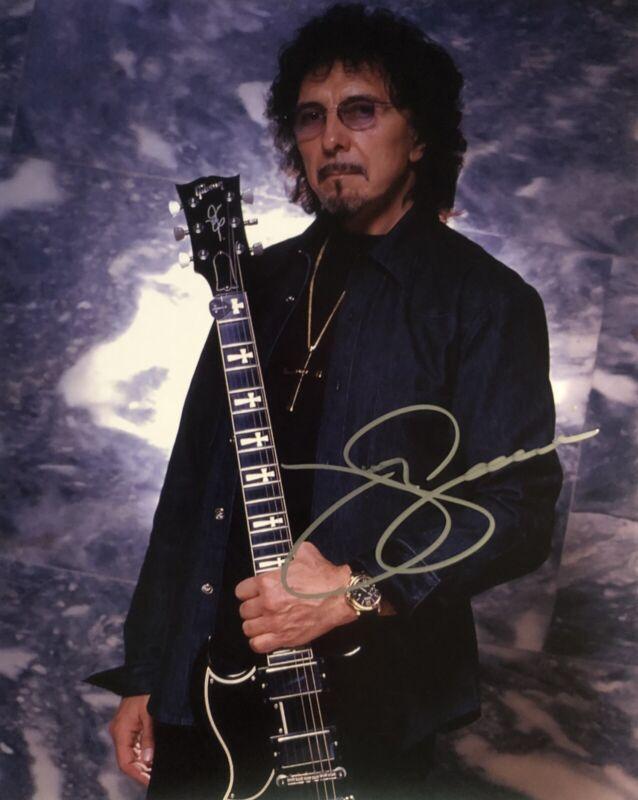 Tony Iommi - Black Sabbath - Original Autograph - Hand Signed 8x10 with COA