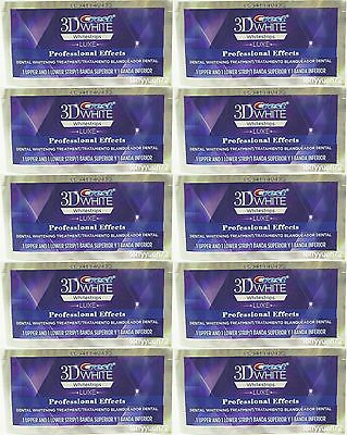 Crest 3D White Whitestrips Luxe Whitening Professional Effects 10 pouch 20strips on Rummage