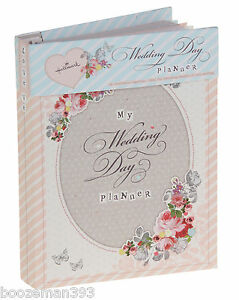 Hallmark-Vintage-Wedding-Planner-Book-Diary-Journal-Organiser-Engagement-gift
