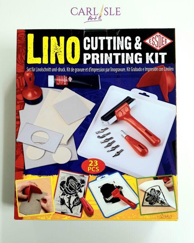 Essdee Complete Lino Cutting & Printing Kit