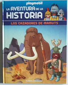 Prehistoria-Libro-n-1-de-la-coleccion-Playmobil-La-Aventura-de-la-Historia