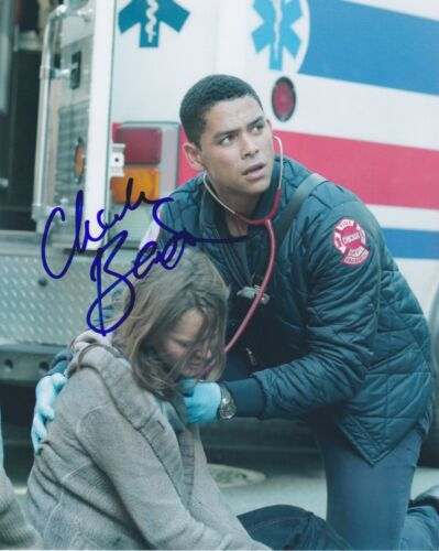 Charlie Barnett Signed Autographed 8x10 Photo Peter Mills Chicago Fire E