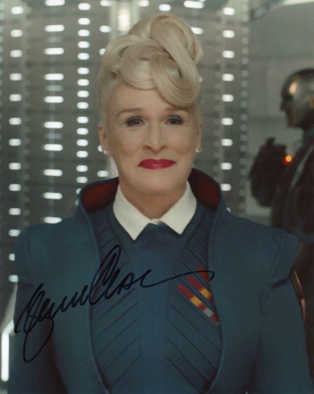 "Glenn Close ""Guardians of the Galaxy"" AUTOGRAPH Signed 8x10 Photo B ACOA"