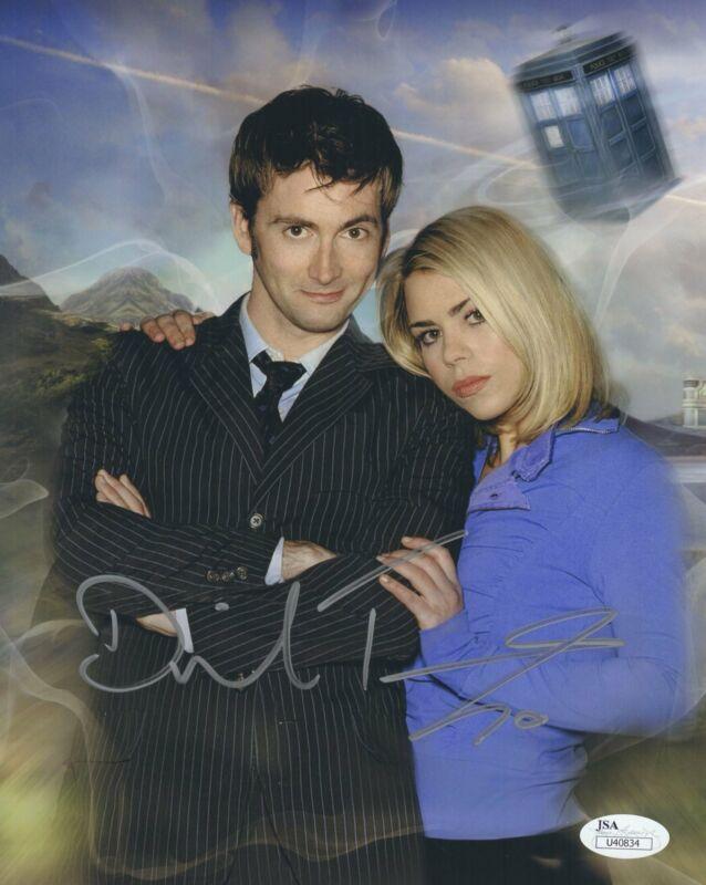 David Tennant Signed Dr. Who 8X10 Photo Autograph JSA COA