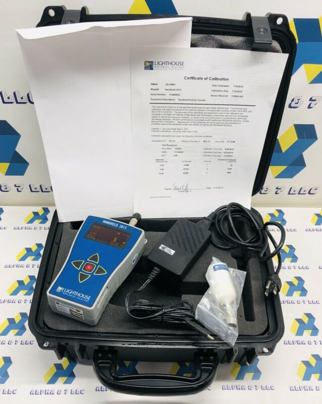Particle Counter Handheld Lighthouse 3013