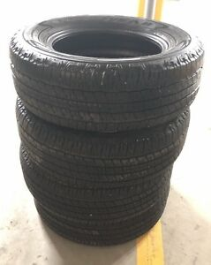 Set of Wrangler Fortitude HT 265/65/18 tires