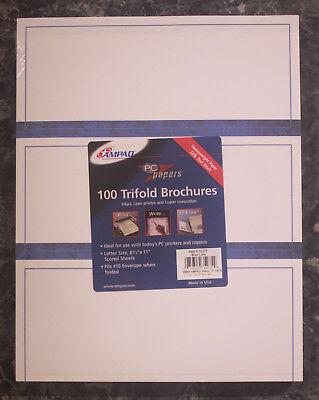 (Ampad n- Tri-fold Brochure Paper Letter 8.5