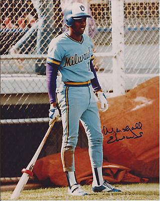 Marshall Edwards Milwaukee Brewers Signed Autographed 8X10 Photo W Coa