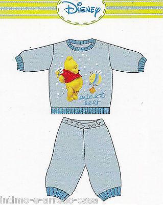 Schlafanzug Pyjama Mädchen - Bimbo. Longsleeve Lunghe. Heiß Cotone. Disney