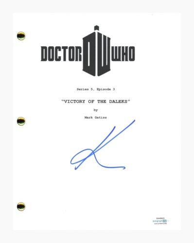 Karen Gillan Signed Autographed Doctor Who Victory Of The Daleks Script ACOA COA