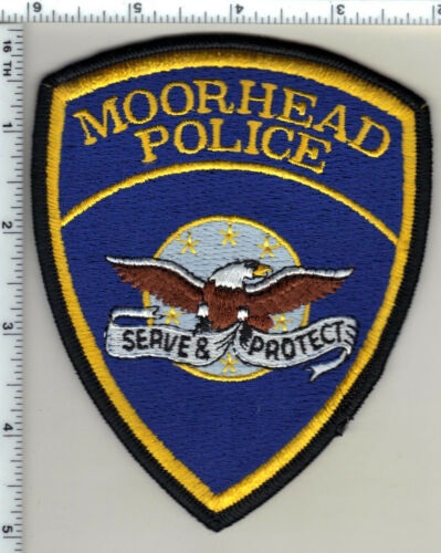 Moorhead Police (Minnesota)  Shoulder Patch  - new from 1991
