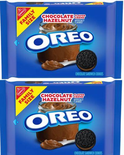 2 Pack Oreo Chocolate Hazelnut