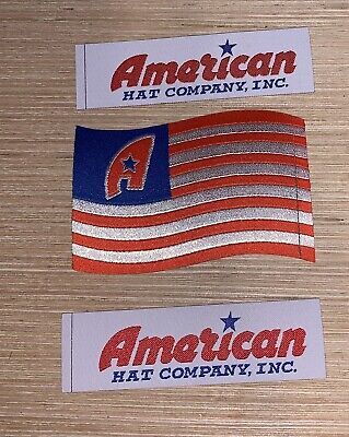 american hat company Cowboy Hat Patches (3) Pack](Pack Hat)