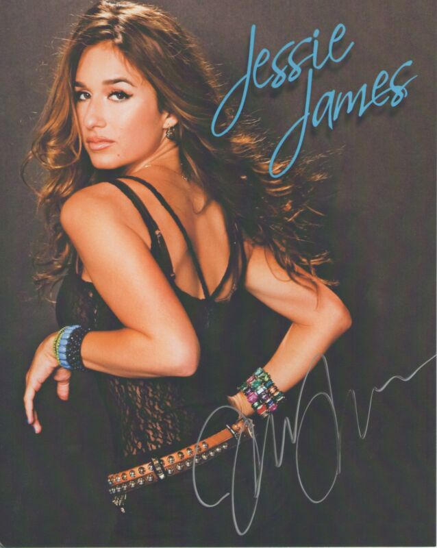 Jessie James *American Country Pop Star* Autographed Signed 8x10 Photo J3 COA