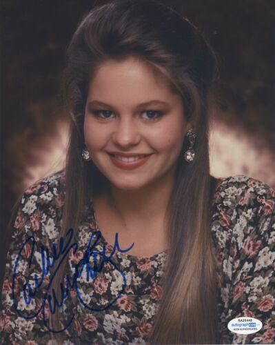 Candace Cameron Bure Full House Autographed Signed 8x10 Photo ACOA 2020-10