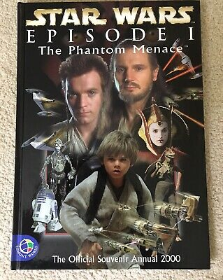Star Wars Episode I The Phantom Menace Official Annual 2000