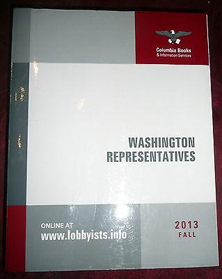 Lobbyists Directory  Washington Representatives 2013