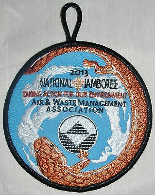 National Jamboree 2013 Air   Waste Management Association Pocket Patch  Bsa