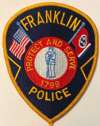 Franklin Police Tennessee Patch